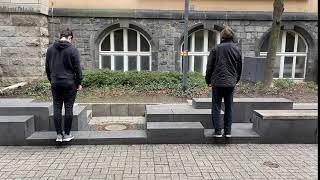 Wadendehnung/-kräftigung Rathaus Rheydt - Muskelkater Rundweg