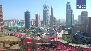 В столице КНДР открыли улицу небоскребов