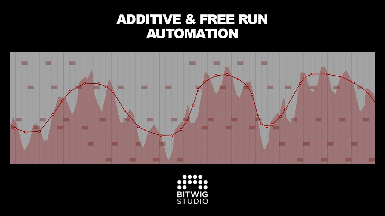 Using Additive & Free Run Automation in Bitwig