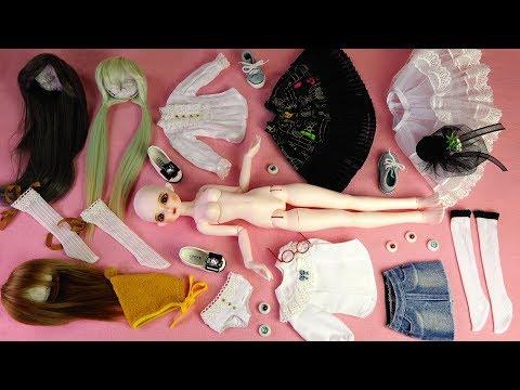 ★구체관절인형 쎄이렌 I.자두 개봉후기/옷입히기★Ball Jointed Doll Sseiren I.JADU Unboxing/BJD