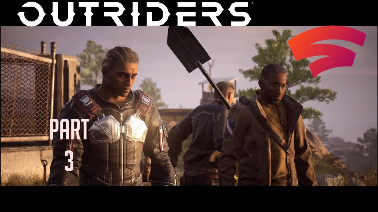 Download Outriders STADIA Walkthrough Gameplay Part 3 - Retrieving the Briefcase and Jane Didn't Make It