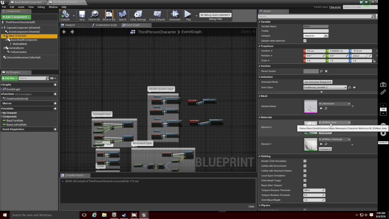 Ue4 basic stealth system replication tutorial youtube ue4 basic stealth system replication tutorial malvernweather Gallery