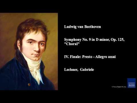 Ludwig van Beethoven, Symphony No. 9 in D minor, Op. 125,