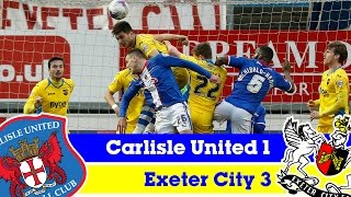 Carlisle United 1-3 Exeter City (7/3/15) - Sky Bet League 2 Highlights 2014/15