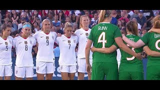 (1) USWNT vs Ireland 8.3.2019 / Victory Tour