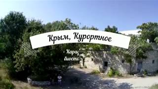 Фото Крым. Карадагская биостанция с квадрокоптер.