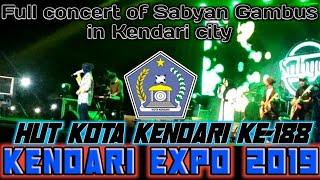 LIVE:: Nisya Sabyan    Konser Full Hut kota Kendari ke 188 & Hut Sultra ke 55 (KENDARI EXPO 2019)