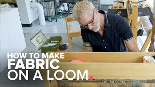 How to Make Fabric on a Loom | The Goods