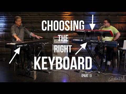 Choosing the Right Keyboard (Pt. 1) | Worship Keyboard Workshop