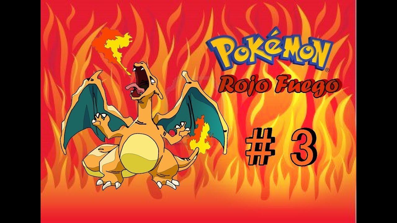 Pok mon rojo fuego cap 3 en espa ol 1 gimnasio y for Gimnasio 8 pokemon rojo fuego