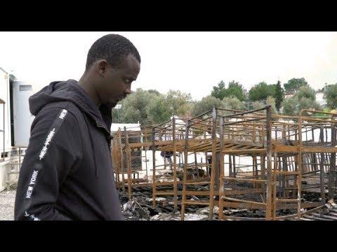 Parcours d'un migrant camerounais à LESBOS