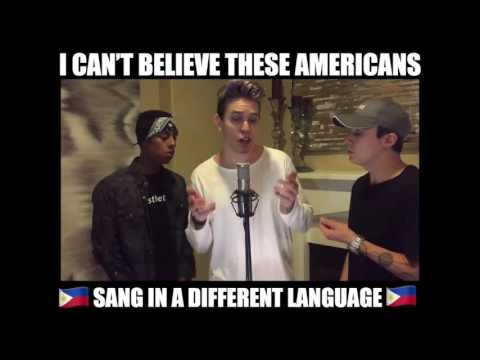 American Singing Tagalog Song  This mashup is INSANE! MUST WATCH!!!  Airspoken