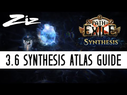 Ziz - 3.6 Path of Exile: Synthesis Atlas Mapping Guide!