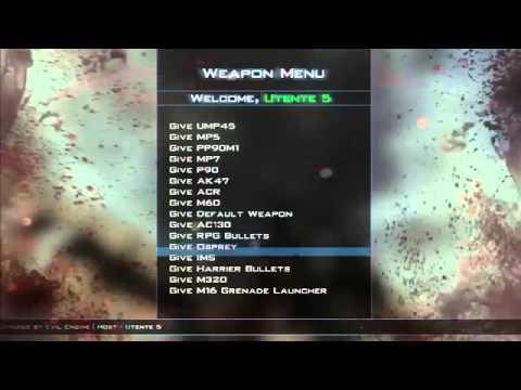 MW3 Mods Salvation v2 0 Mod menu Release PS3 XBOX ...