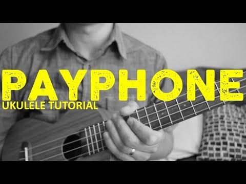 Maroon 5 - Payphone (EASY Ukulele Tutorial) - Chords - How To Play