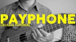 Download Payphone - Maroon 5 (EASY Ukulele Tutorial) - Chords - How To Play Mp3