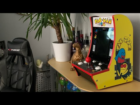 Arcade1Up Pac-Man countercade Look@ & Review Worth money ? from Gold2th Gaming