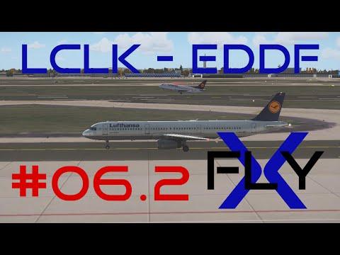 FlyX #06.2  Larnaca - Frankfurt (DLH A321) [FullHD]