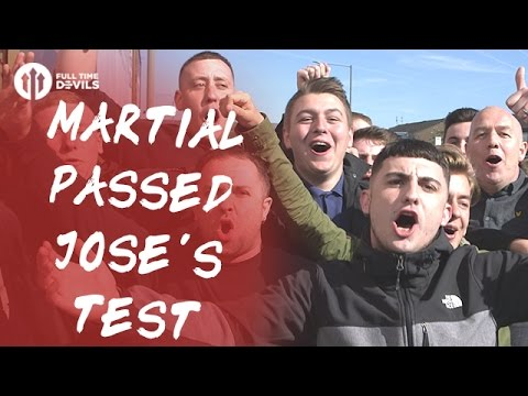 Martial Passed Jose Test! | Burnley 0-2 Manchester United | FANCAM
