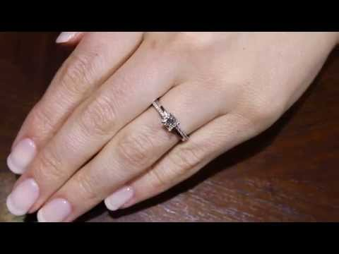 Deborah Engagement Ring Princess Cut