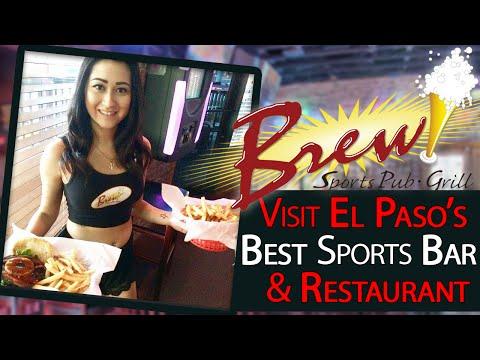 Visit One of El Paso's BEST Restaurants | Brew Sports Pub