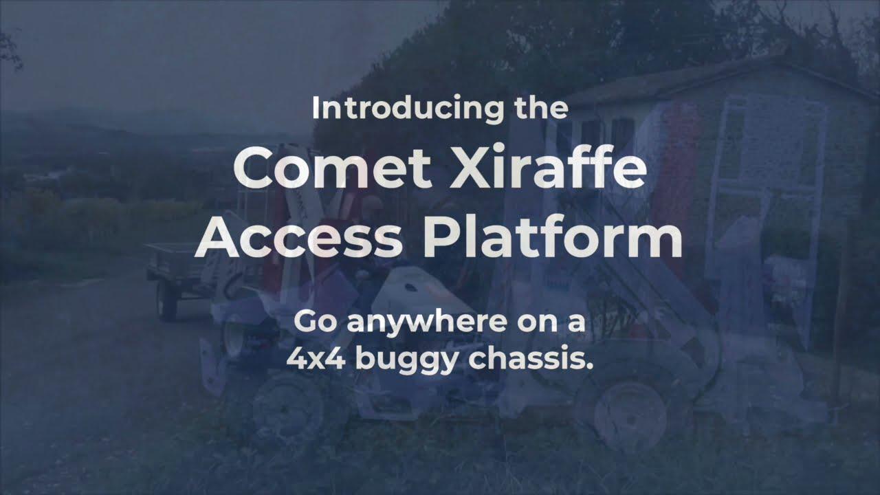 Comet Access Platforms at Caledonian Access 2