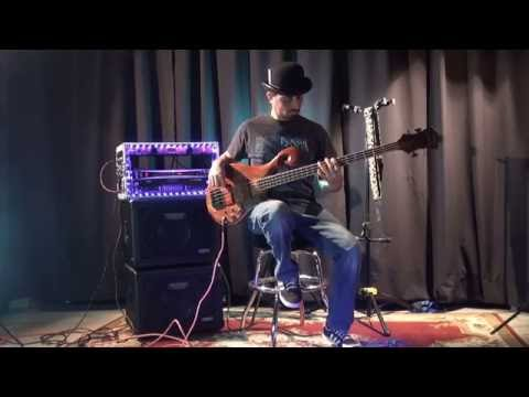 Mike Garza (JangoMike) Pedal Jams Demo #1 (Jamming with a Moog, Bass Whammy, and Digitech Drop)
