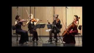 "Hegel Quartett Mozart Quartet in C-Major, KV 465 ""Dissonance"" (3/4) Menuetto. Allegro"