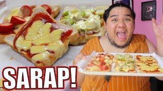 Gagawa tayo ng NO BAKE PIZZA (TASTY BREAD lang bes!) | Lutobaninat #6