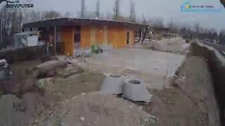 Camping Au an der Donau / donAu-Stand'l Erweiterung 2016 Zeitraffer / Time Lapse