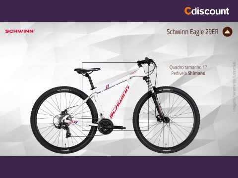 b2348b89e Bicicleta Aro 29 Schwinn Eagle com 21 Marchas e Suspensão Dianteira ...