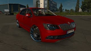 "[""Skoda SuperB"", ""ETS 2 Mod"", ""engine 1000hp"", ""Euro Truck Simulator 2""]"