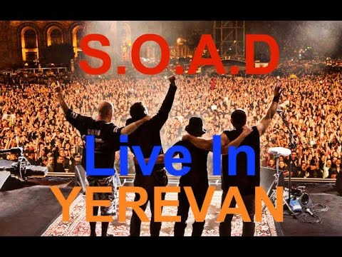 System Of A Down - Holy Mountains (23.04.2015 Live Concert In Yerevan)