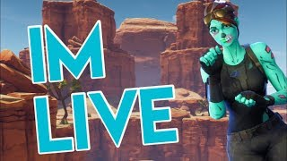 FORTNITE PS4 LIVE PLAYING WITH SUBS// Road to 1.1k