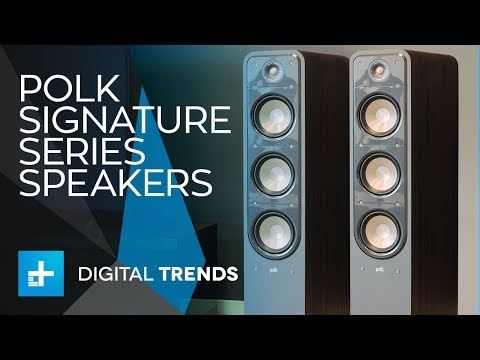 Polk Signature Series Speakers - Hands On Review