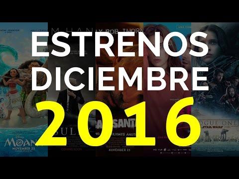 Películas que se estrenan en DICIEMBRE 2016 - Top 10
