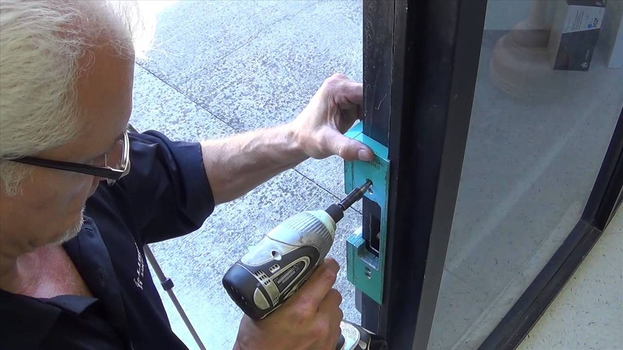 hes 5000 electric strike lock installation youtube