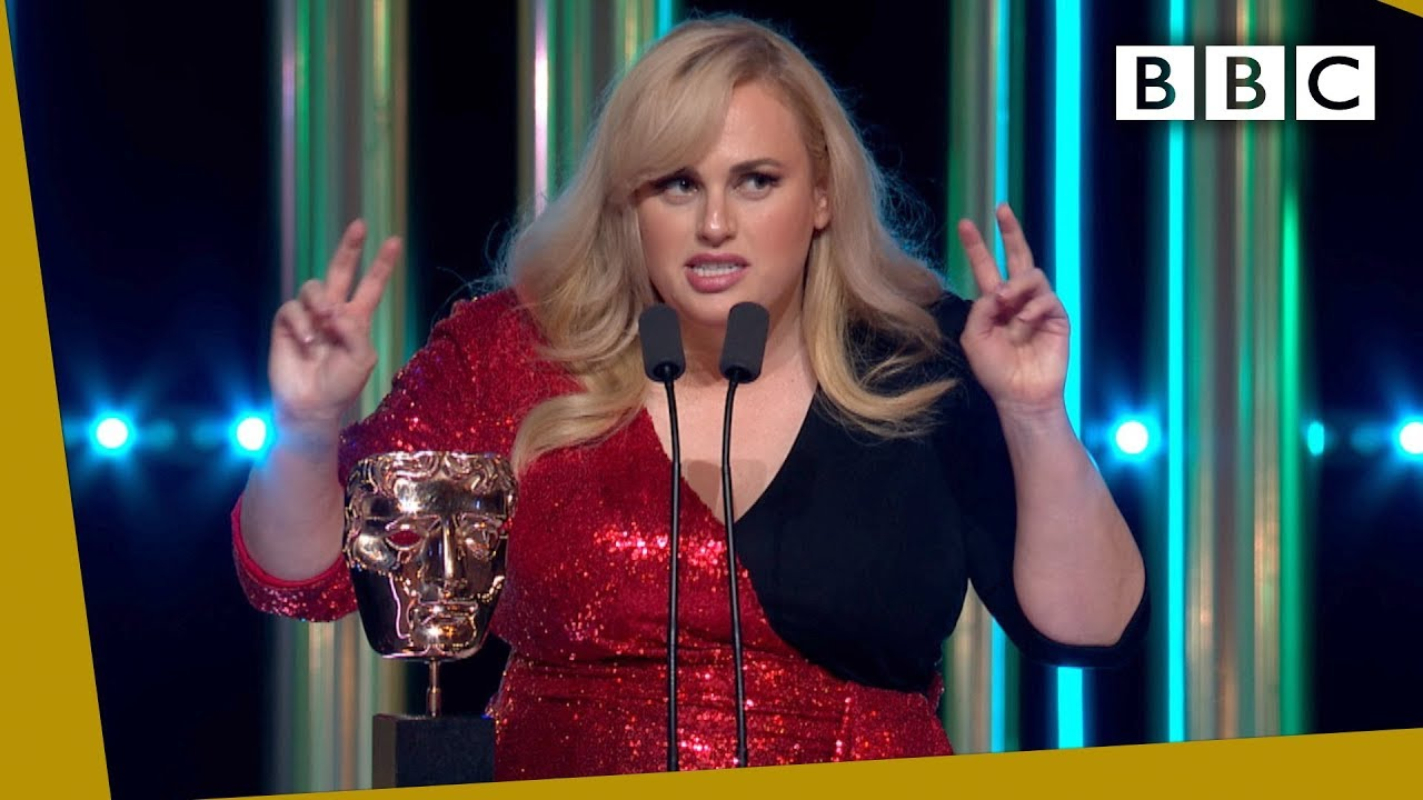 Download Rebel Wilson steals the show with HILARIOUS unexpected BAFTA 2020 speech - BBC