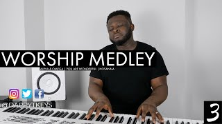 Worship Instrumental Medley (3): Alpha & Omega | You Are Wonderful | Hosanna | Time Alone With God