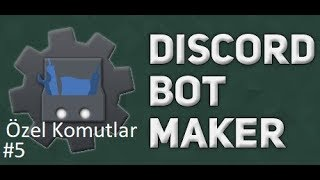 Basit Su Dök Komutu | Discord Bot Maker Özel Komutlar Komutları #5