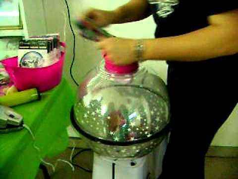 Balloon stuffing youtube for Balloon decoration machine
