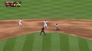 SF@STL: Kozma turns double play on Arias