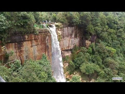 WAH KABA FALLS, SOHRA, Travel Guide Day 4,Cherapunji, Meghalaya