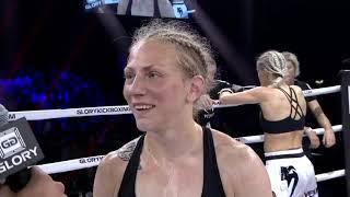 GLORY 65: Sofia Olofsson Post-Fight Interview