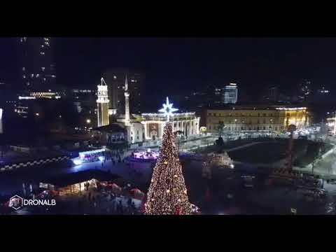 Tirana, Albania Christmas 2018