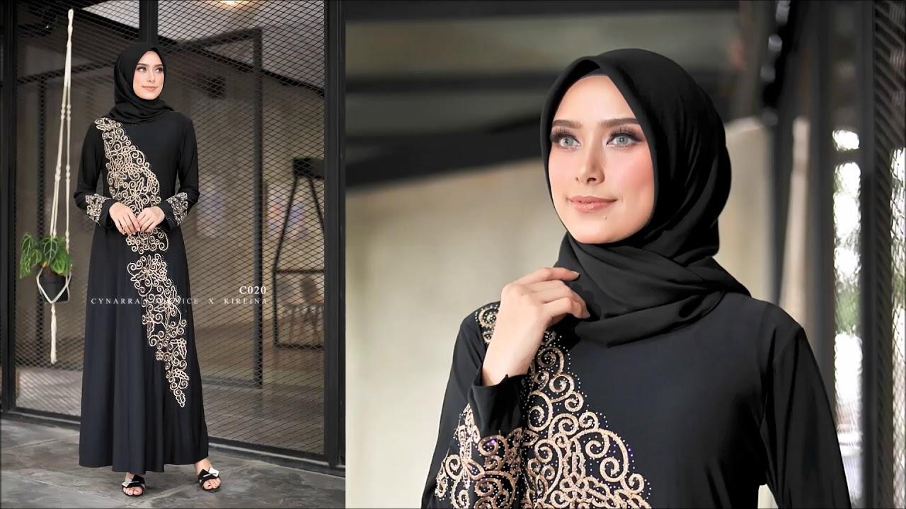 15 Model Baju Muslim Untuk Wanita Berhijab Terkini ...