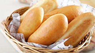 Receita de Pão Caseiro – Pão Para Cachorro Quente