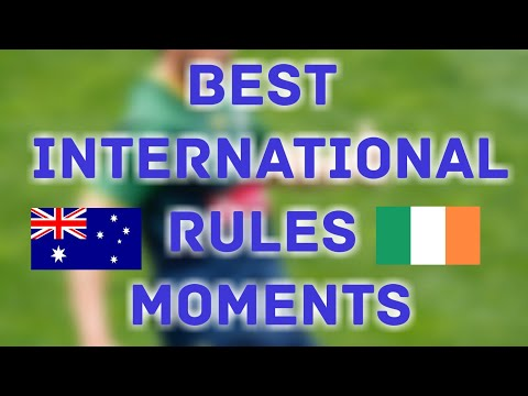 Best Australian Moments -International Rules Series