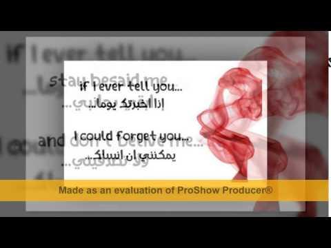 Mohamad Bash I Cant Stop Missing You Lyrics مترجمة Youtube