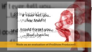 mohamad bash I can't stop missing you lyrics مترجمة